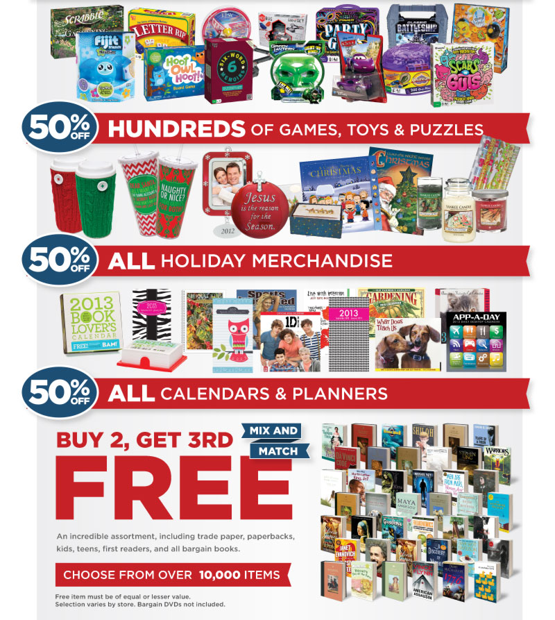 Games, Toys, Holiday Merchandise & More