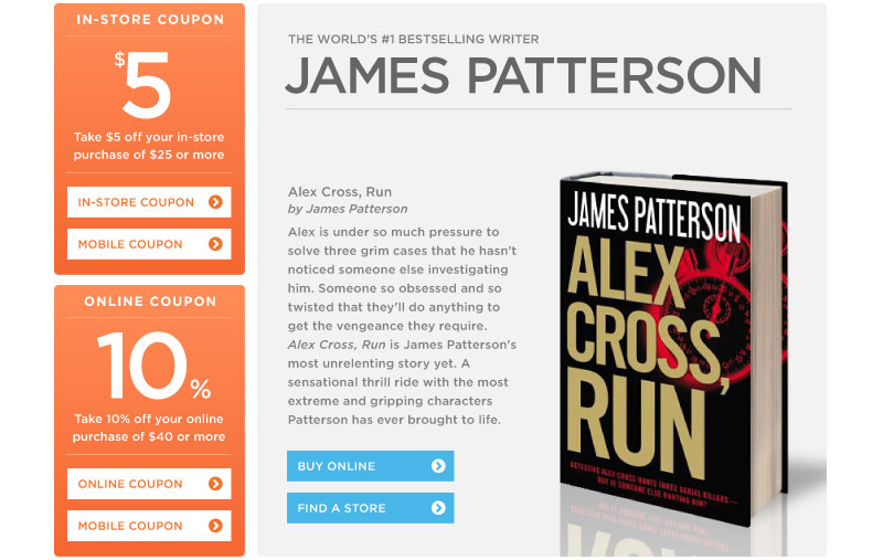 New from James Patterson
