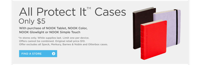 ProtectIt® Cases Only $5