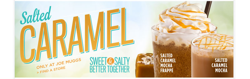 Salted Caramel - Only at Joe Muggs