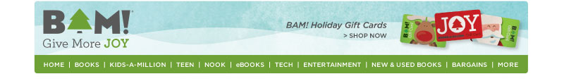 BAM! Books, Toys, Tech, More!
