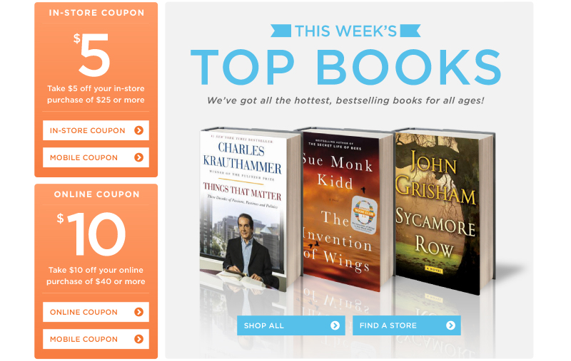 This Week's Top Books!