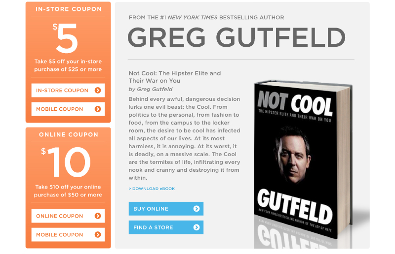 """Not Cool"" by Greg Gutfeld"