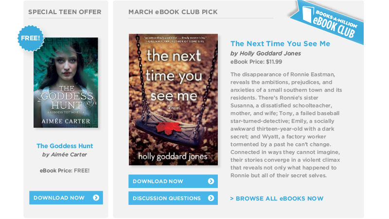 March eBook Club Pick