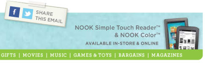 Nook now in stores and online.
